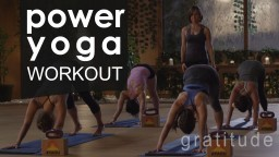 Full Body Power Yoga Workout