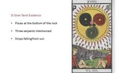 Gnostic Tarot Cards : Historical Module - The Sun