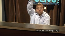 """Hypnotist Bernie Hypnotizing everybody who was watching TV (""""hypnotize yourself video"""")"""