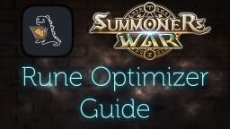 SUMMONERS WAR: Rune Optimizer Guide (German / Deutsch)