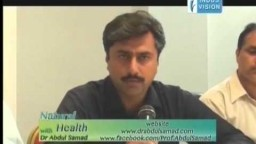 Natural Health with Dr. Abdul Samad, Topic: Sufism, on Indus Vision TV