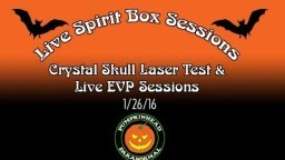 LIVE Spirit Box Sessions, Spirit Communication - Testing out 2 cam set-up with Full Spectrum Cam