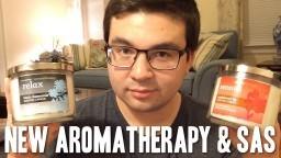 """NEW"" Aromatherapy Candles & SAS Info | Bath & Body Works Haul"