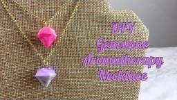 DIY Gemstone Aromatherapy Necklace | HelloGiggles