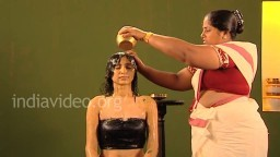 Traditional Ayurveda ayurvedic healing bath for women's health