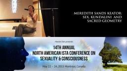 Meredith Sands Keator: Sex, Kundalini and Sacred Geometry